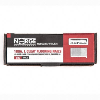 1-3/4&#034; 18ga. Floor Cleats 500-Count